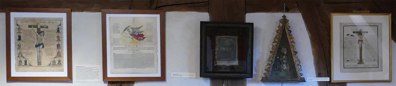 Steinhauerstube Maulbronn Schmie zentraler Ausstellungsraum 1 Reliquien